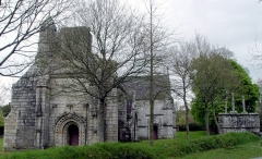 Chapelle Notre-Dame des Trois-Fontaines - Deutsch: Gouézec (Bretagne, Finistère) Kapelle Notre-Dame des Trois-Fontaines