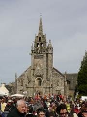 Eglise Saint-Ténénan - Italiano: Chiesa di Guerlesquin