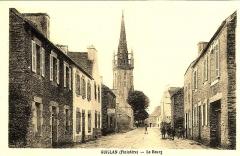 Eglise Saint-Pierre - Français:   Guiclan au début du XXe siècle (carte postale).