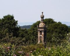 Chapelle Notre-Dame-de-Bonne-Nouvelle -  Locronan - Turm der Kapelle des Quellenheiligtums