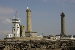 Tour et chapelle Saint-Pierre - English: Phare de Eckmuhl, Penmarch, Finistere, Brittany, France