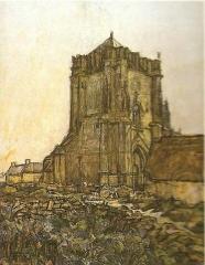 Ruines de la tour de Saint-Guénolé -