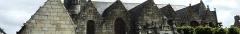 Eglise Saint-Pierre et chapelle funéraire - Français:   Église paroissiale de Pleyber-Christ dans le département du Finistère, en région Bretagne (France), classée monument historique.