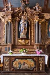 Eglise Saint-Pierre et chapelle funéraire - Brezhoneg: Iliz Sant-Pêr Pleiber-Krist: aoter Itron Varia.