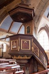 Eglise Saint-Pierre et chapelle funéraire - Brezhoneg: Iliz Sant-Pêr Pleiber-Krist: ar gador-brezeg.