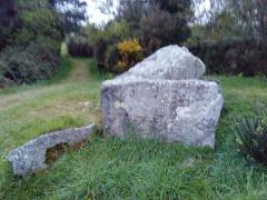 Deux dolmens de Kervadol et bande de terrain autour du dolmen - Français:   Dolmens