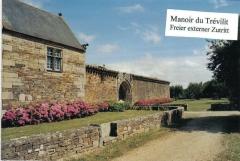 Manoir de Trévilit - Français:   Manoir du Trevilit à Ploneour-Lanvern, Finistere