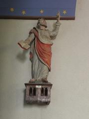 Eglise Saint-Etienne - Français:   Intérieur de l\'église Saint-Étienne de Plouezoc\'h (29). Statue de Saint-Marc.