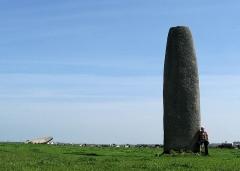 Menhir de Kergadiou - Deutsch: Menhire von Kergadiou (Finistere)