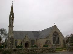 Eglise Saint-Demet -  Finistere Plozevet Eglise Cote Est