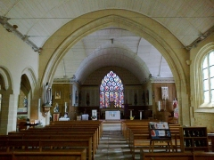 Eglise Saint-Demet -  Finistere Plozevet Eglise Nef