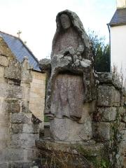 Eglise Saint-Paban de Lababan - English: Pouldreuzic, pietà à Lababan