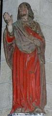 Chapelle Notre-Dame de Kergoat - Français:   Chapelle Notre-Dame de Kergoat en Quéménéven (29). Statue de Saint-Jean l\'évangéliste.