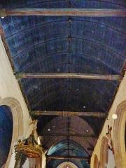 Eglise de la Trinité de Kerfeunteun - Français:   L\'église de la Trinité à Quimper-Kerfeunteun , la voûte