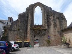 Ancienne abbaye de Saint-Colomban - Français:   Abbaye de Saint-Colomban, Quimperlé