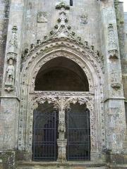 Eglise Notre-Dame-de-l'Assomption ou de Saint-Michel - English:   Portail de l\'église Notre-Dame-de-l\'Assomption de Quimperlé