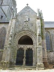 Eglise Notre-Dame-de-l'Assomption ou de Saint-Michel -  Quimperlé Eglise Notre-dame de l'Assomption Portail sud