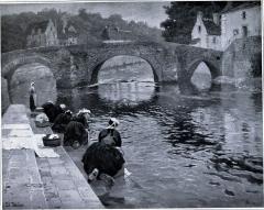 Pont Fleuri, sur l'Ellée -