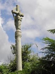 Chapelle du Moustoir - Français:   Calvaire près la chapelle du Moustoir en Bannalec (29).