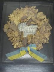 Manoir de la Haye -  Accession 2004-71-1 Commemortaive Wreath, Olympics 1912 23.5
