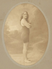 Manoir de la Haye - English: Fanny Durack, Stockholm Olympics, 1912, from original silver gelatin print, ca. 1925, by Florman, from State Library Of New South Wales, PXE 653 v.58 34