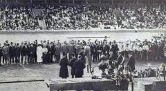 Manoir de la Haye - JO de 1912 à Stockholm, cérémonie d'ouverture.