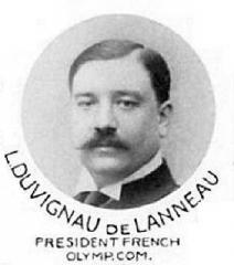 Manoir de la Haye - L. Duvignau de Lanneau, Président du Comité Olympique Français en 1912.