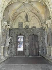Ancienne cathédrale Saint-Paul-Aurélien - Français:   Portail du porche sud de la cathédrale Saint-Pol-Aurélien en Saint-Pol-de-Léon (29).