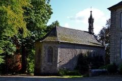 Château de Keranroux, à Ploujean - Français:   Chapelle Notre Dame de la Fontaine, annexe au château de Kéranroux (XVIIIe siècle) à Ploujean (Morlaix, Finistère).