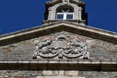 Château de Keranroux, à Ploujean - Français:   Château de Kéranroux (XVIIIe siècle) à Ploujean (Morlaix, Finistère).