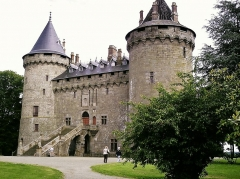 Château - Deutsch: Die bretonische Burg in Combourg, wo Francoise René Chateaubriand einen Teil seiner Jugend verbrachte.
