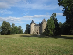 Château - English: Combourg Castle