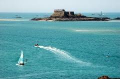 Ile Harbour et son fort - Français:   Île Harbour