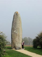 Menhir de Champ-Dolent - Deutsch: Menhir Dol-de-Bretagne