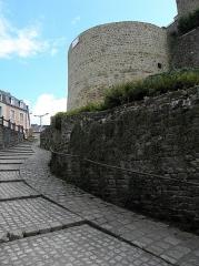 Remparts Nord - Tour Montfromery à Fougères (35).