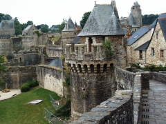 Tour Nichot -  Fougères - Stadtmauer