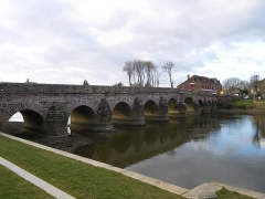 Pont de Pont-Réan -  le pont sur la vilaine a pont-rean