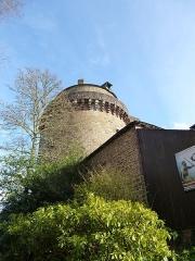 Tour du château ou ancien donjon (ancienne prison) -  la tour papegault