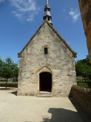 Manoir de Boisorcant -  la chapelle du chateau