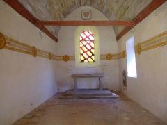 Manoir de Boisorcant -  la chapelle du chateau du bois d'orcan