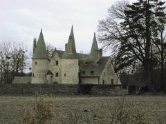 Manoir de Boisorcant -  Manoir du Bois-Orcan de Noyal sur Vilaine avant restauration  (2001)