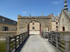 Manoir de Boisorcant -  l'entrée du chateau