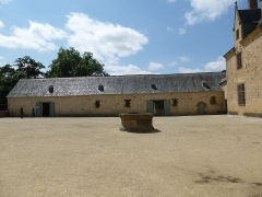 Manoir de Boisorcant -  la cour du chateau