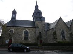 Eglise Sainte-Mélaine -  l'eglise de pacé