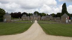Château de la Bourbansais - English: Castle of La Bourbansais (Ille-et-Vilaine, France).