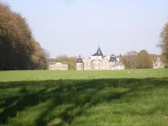 Château de la Bourbansais -  le chateau de la bourbansais a pleugeuneuc