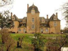 Château du Bois-Glaume - Français:   Château du Bois-Glaume à Poligné (Ille-et-Vilaine, France); vue par l\'arrière