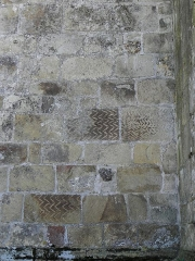 Eglise Saint-Crépin ou Saint-Crépinien - Français:   Façade nord de l\'église Saint-Crépin et saint-Crépinien de Rannée (35). 4ème chapelle. Détail de l\'appareillage.