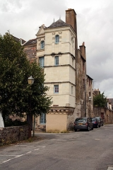 Hôtel de Richelieu - English: La Tour Richelieu (Richelieu tower), du Plessis street, Redon, Brittany, France.
