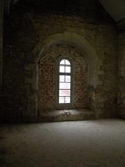 Ancien couvent de Bonne-Nouvelle - Baie ouest de la chapelle de Bonne-Nouvelle du couvent des Jacobins de Rennes (Ille-et-Vilaine, Bretagne).